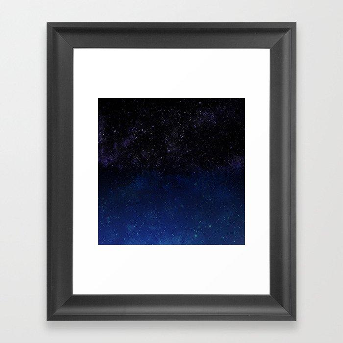 Sea To Sky Framed Art Print