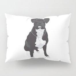 The Black & White Boxer Pillow Sham