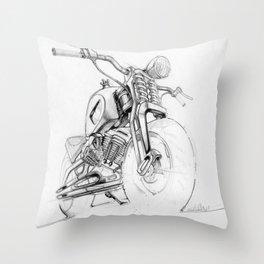 Springer Cycle Throw Pillow