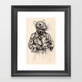 Ethical Concern Framed Art Print