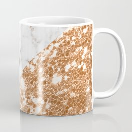 Layers of rose gold Coffee Mug