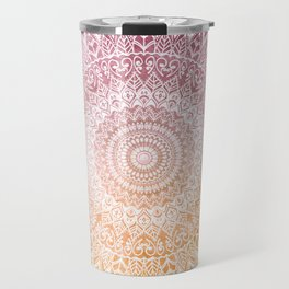 SUMMER LEAVES MANDALA Travel Mug