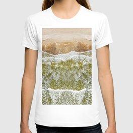 Baltic sea, aerial view T-shirt