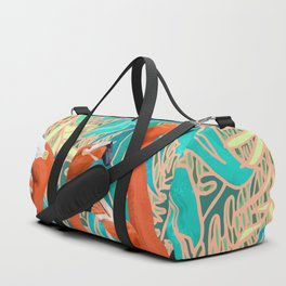 Flamingo Party Duffle Bag