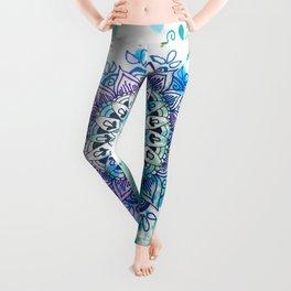 Mandala Splash Leggings
