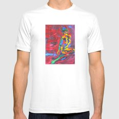 Colorful Nude Mens Fitted Tee White MEDIUM