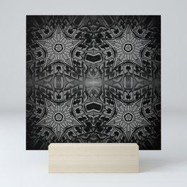 Black Gothic Stars Mini Art Print