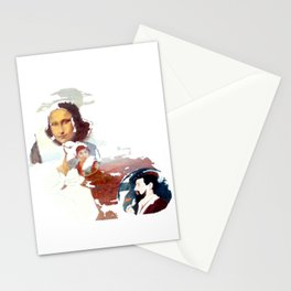 Mona Lisa & Friends Szene Stationery Cards