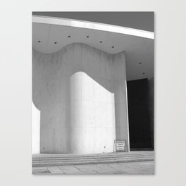 An Auditorium in Which I Saw My Friends As Actors Canvas Print