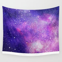 Space Nebula Galaxy Stars Wall Tapestry