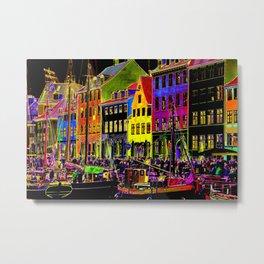 Copenhagen. Nyhavn Colors II Metal Print