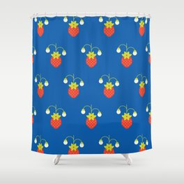 Fruit: Strawberry Shower Curtain