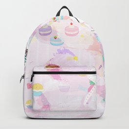 Cupcake Party Girl Backpack