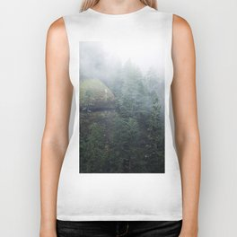 Mist.Forest.Cliff.Moss.Green.Evergreen.PNW.Eagle Creek.Pacific Northwest.Hiking Biker Tank
