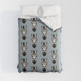 Zebra Black and White Pattern Comforters