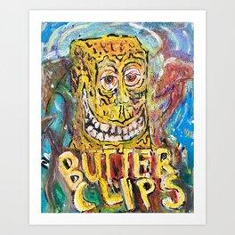 Butter Clips Exclusive Art Print