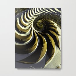 Shaded Metal Print