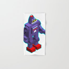 Robot Hand & Bath Towel