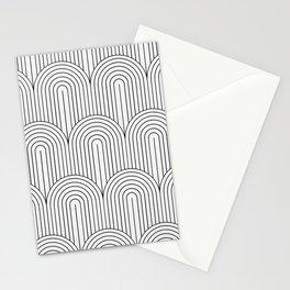 Art Deco Arch Pattern IX Stationery Cards