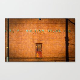Floating Door Canvas Print