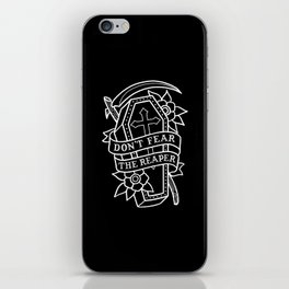 Don't Fear the Reaper iPhone Skin