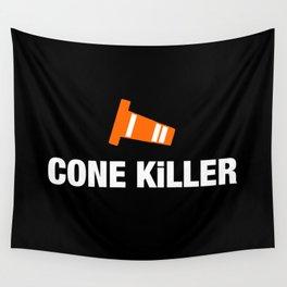 Cone Killer v3 HQvector Wall Tapestry