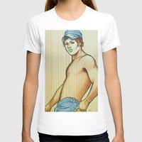 lou reed T-shirts featuring Lou by NathanRapportArt