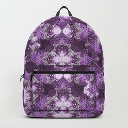 Violet Hibiscus Backpack