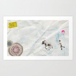 Eine Kleine Geschichte über die Liebe#9 Art Print