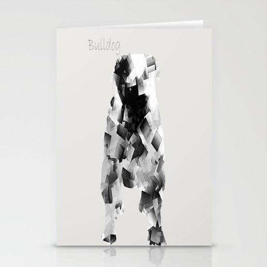 the bulldog  Stationery Cards