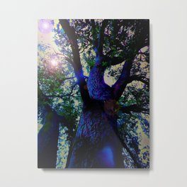"""A Conversation With Ents"" Metal Print"