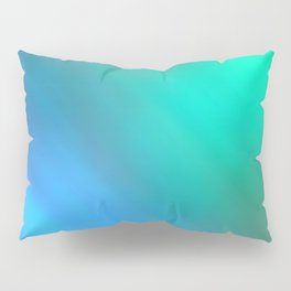 Mystic - Green and Blue Pillow Sham