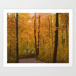 Colors of Fall #3 Art Print