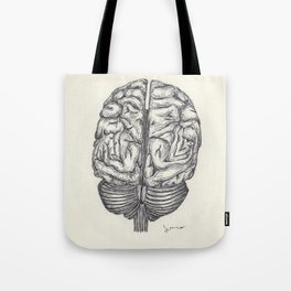 BALLPEN BRAIN 1 Tote Bag