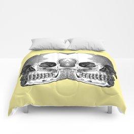 Double Trouble / PASTEL YELLOW Comforters