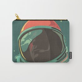 Ground Control to Major Tom Bowie Astronaut Design Carry-All Pouch