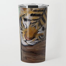 Sleepy Tiger Cub Travel Mug
