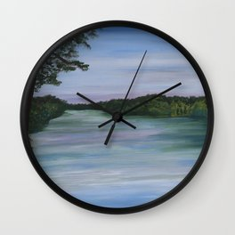Lake View Wall Clock