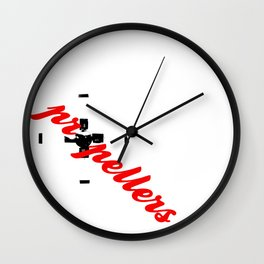 Propellers 4 Blade --- clear2land.net  copyright Wall Clock