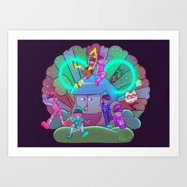 Osomatsu-san :: Electrical Parade (ver1) Art Print