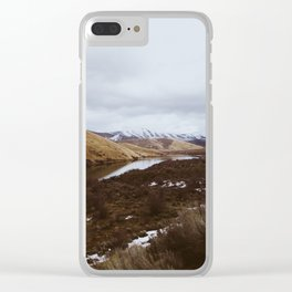 Peace By the lake Clear iPhone Case