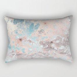Pastel marble texture Rectangular Pillow