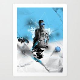 Neptune's Tattoo's  Art Print