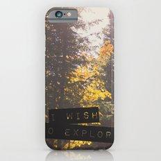 I wish to explore iPhone 6s Slim Case