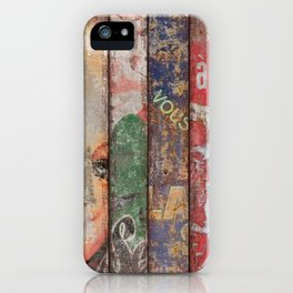 Vintage Posters Collection iPhone Case