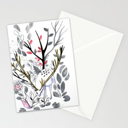Dee of the winter Stationery Cards