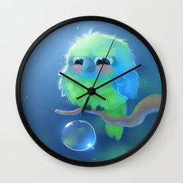 Mini Parrot Wall Clock