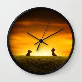 """""""El Encuentro"""" Wall Clock"""