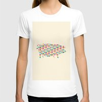 piglet T-shirts featuring Piglet Geometric by ArtisanObscure Prints
