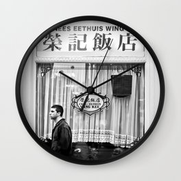 City Walk Wall Clock